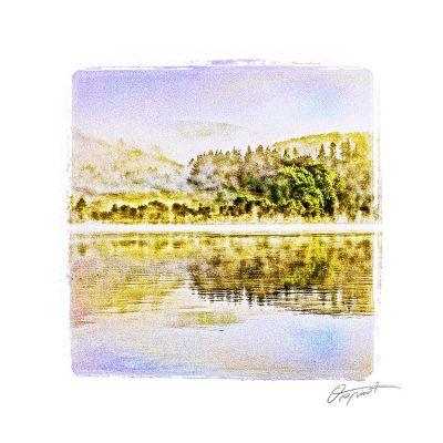 Lac de La Raviège en Occitanie