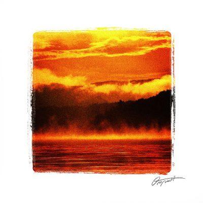 lac de la raviège orange