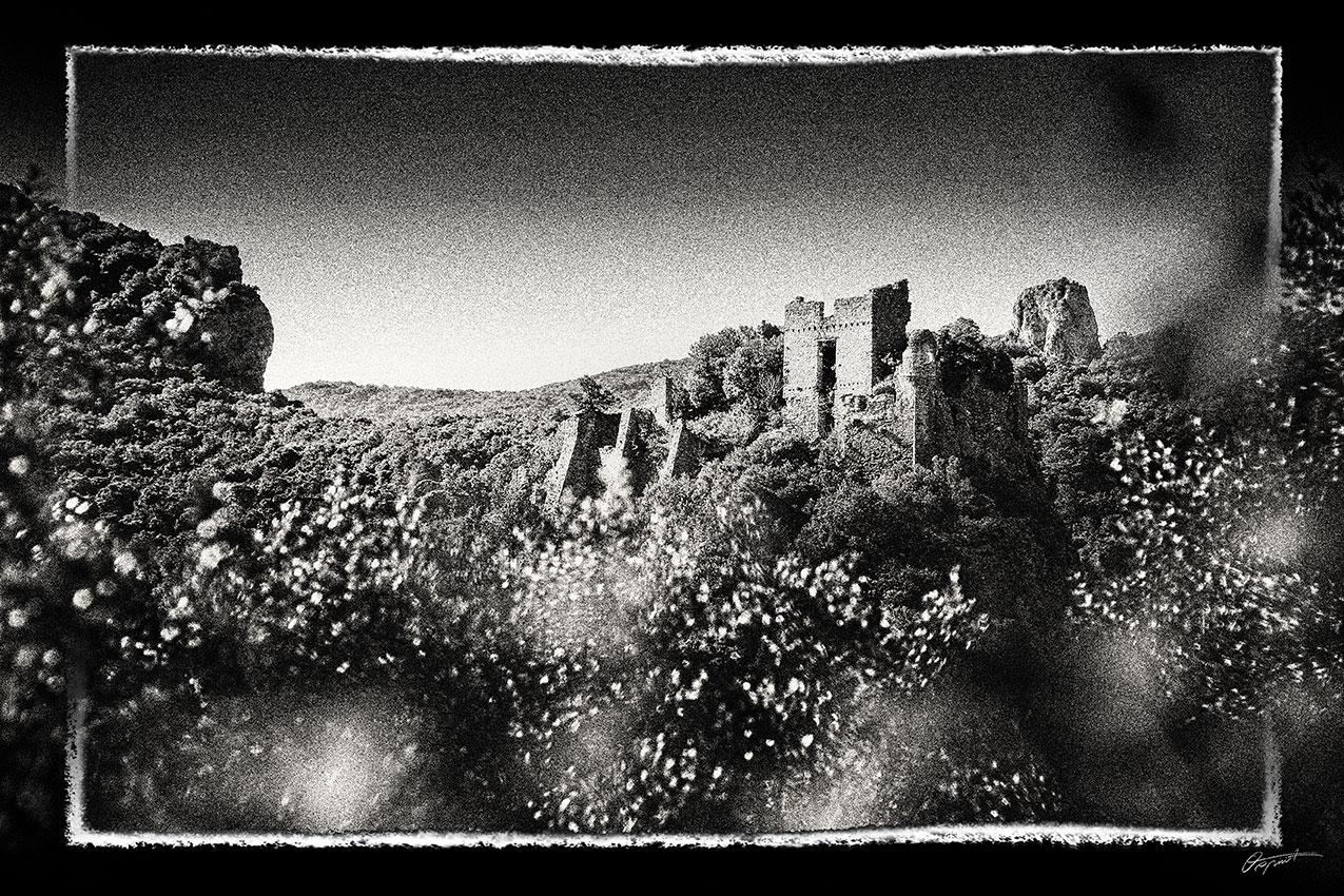 Photographie d'art du château de Durfort