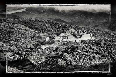 Photographie d'art du Chateau de Termes