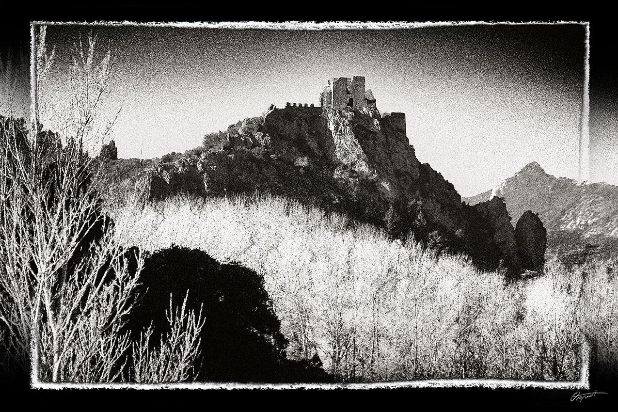 Photographie d'art du château de Padern
