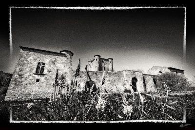 Photographie d'art du château d'arques