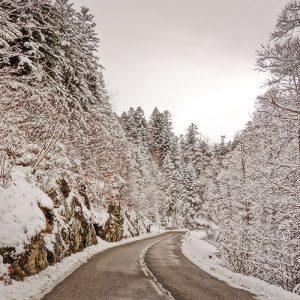 route entre Axat et Puyvalador