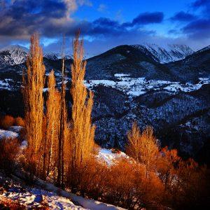 Mont Louis dans les Pyrénées Orientales