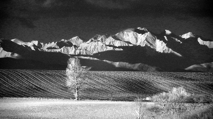 Monts Dolmes vu de Mirepoix