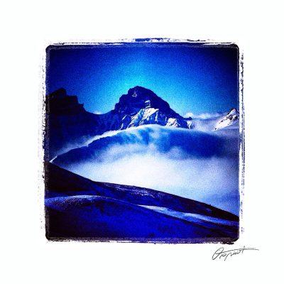 Massif du Dévoluy dans les Hautes Alpes