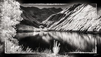 Lac de Grand Maison en Savoie